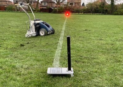 Line Marking With Laser